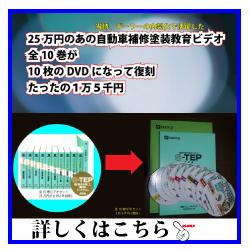 S-TEP関ペ自動車補修塗装教育ビデオ